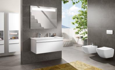 Basic Line Badezimmer Beispiel – 1