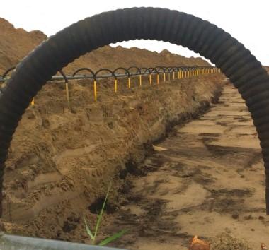 Grundwasserabsenkung seit über 70 Jahren in Edewecht zwischen Oldenburg, Bad Zwischenahn und Friesoythe